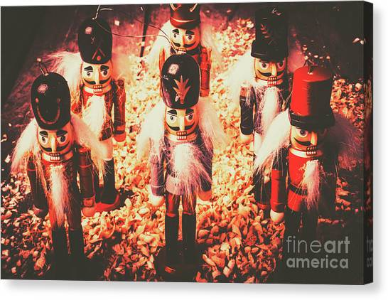 Soldiers Canvas Print - Marching In Tradition by Jorgo Photography - Wall Art Gallery