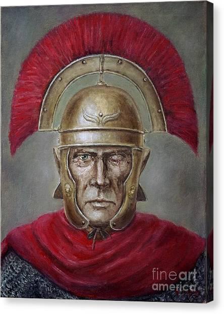 Marcus Cassius Scaeva Canvas Print