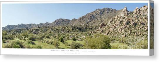 Marcus Landslide - Brian Gootee Hike Canvas Print