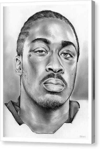 Running Backs Canvas Print - Marcus Lattimore by Greg Joens