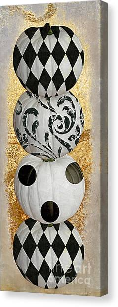 Halloween Canvas Print - Mardi Gras Halloween by Mindy Sommers