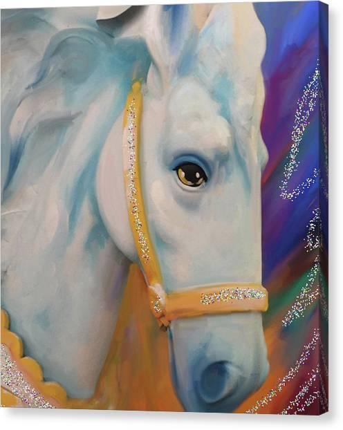 Mardi Gras Horse Canvas Print