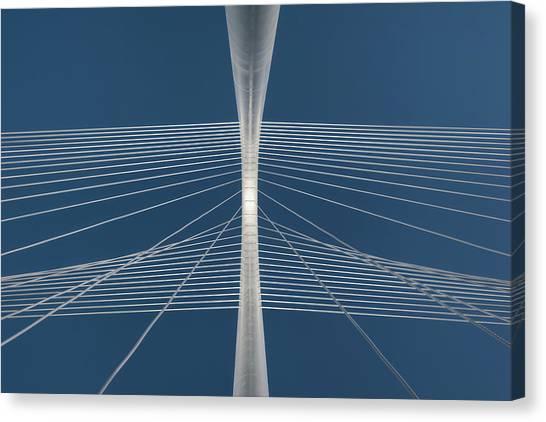 Margaret Hunt Hill Bridge Canvas Print by Todd Landry Photography