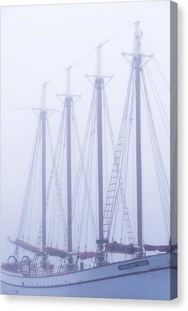 Ships Canvas Print - Margaret Todd by Chad Dutson