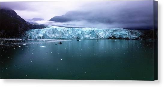 Margerie Glacier Canvas Print - Margerie Glacier by Mitch Cat