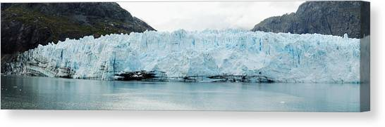 Margerie Glacier Canvas Print - Margerie Glacier Panorama by Michael Peychich
