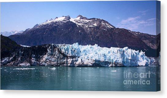 Margerie Glacier Canvas Print - Margerie Glacier by Robert Pilkington