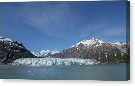Margerie Glacier Canvas Print - Margerie Glacier by Stephanie McDowell
