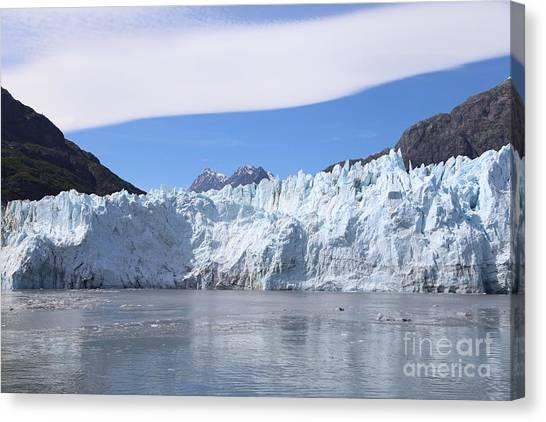 Margerie Glacier Canvas Print - Margerie Glacier by Zachary Coeman