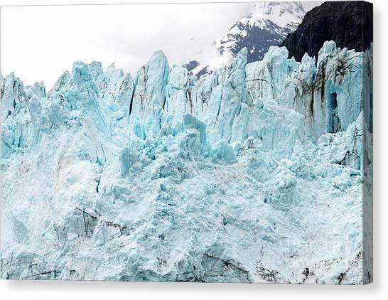 Margerie Glacier Canvas Print - Margerie Glacier__3634 by Baywest Imaging