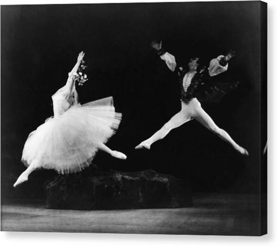 Margot Fonteyn 1919-1991, And Alexis Canvas Print by Everett