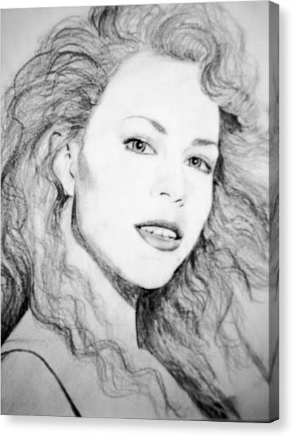 Mariah Canvas Print by Terry Groehler