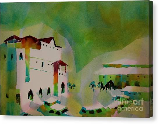 Marigot Saint Martin Caribbean I Canvas Print