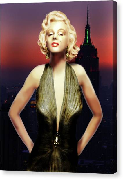 Marilyn Forever Canvas Print