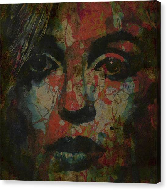 Goddess Canvas Print - Marilyn Monroe @ I Need You by Paul Lovering