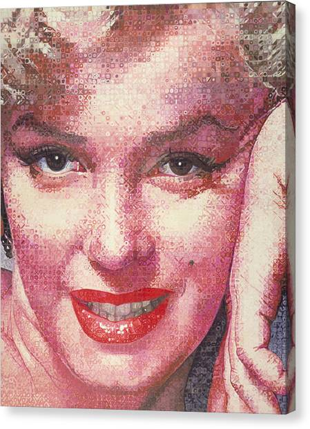 Marilyn Canvas Print by Randy Ford