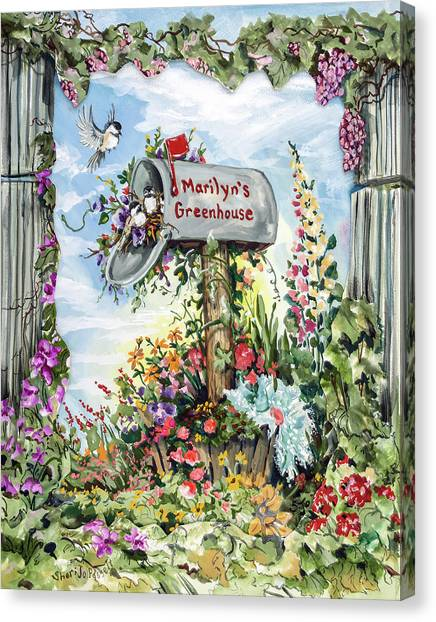 Marilyn's Greenhouse Canvas Print