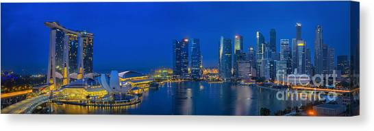 Marina Bay Sand Canvas Print
