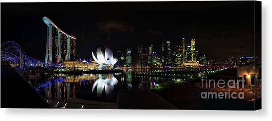 Marina Bay Sands Canvas Print