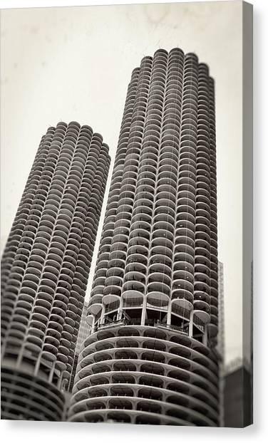 Marina City - Chicago Canvas Print