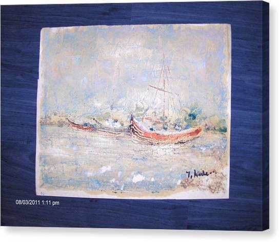 Marina Canvas Print by Ilie  Ardeleanu