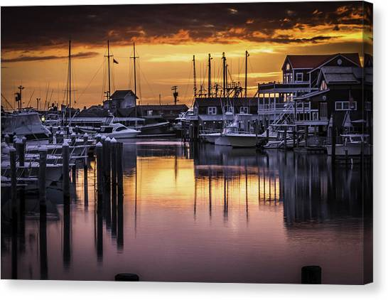 The Floating Sky Canvas Print