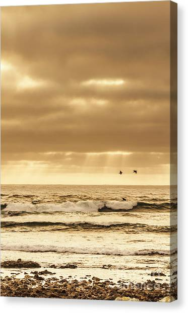 Ocean Sunset Canvas Print - Marine Dream by Jorgo Photography - Wall Art Gallery
