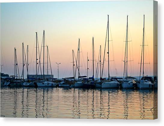 Marine Reflections Canvas Print