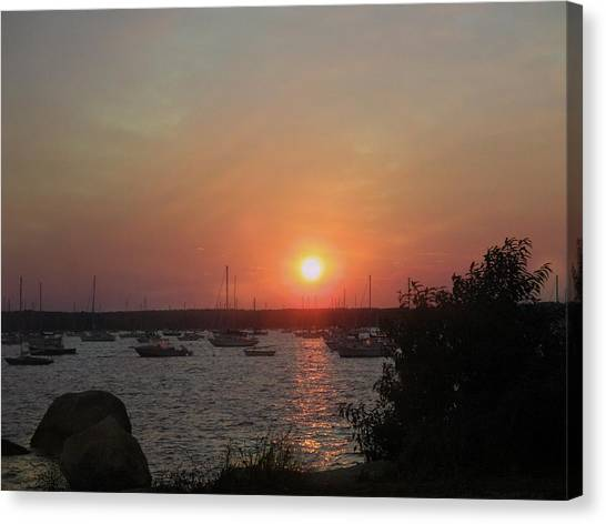 Marion Massachusetts Bay Canvas Print