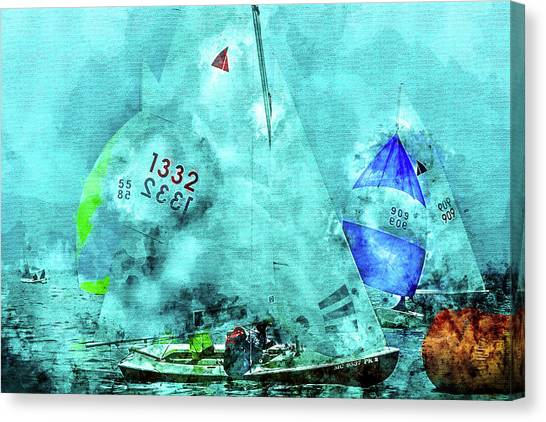 Maritime Number One Canvas Print