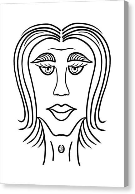 Mariza Canvas Print