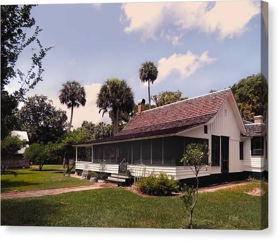 Marjorie Kinnan Rawlings Home Canvas Print