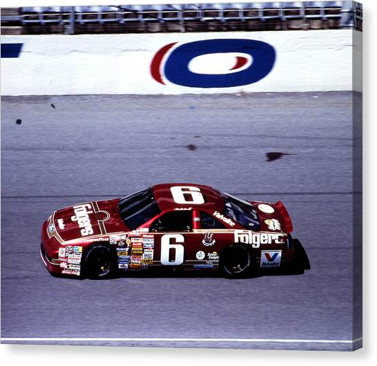 Daytona 500 Canvas Print - Mark Martin 1990 Daytona 500 by David Bryant