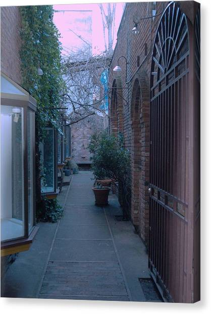 Market Alley Canvas Print by James Johnstone