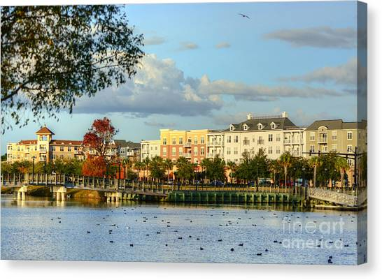 Market Common Myrtle Beach Canvas Print