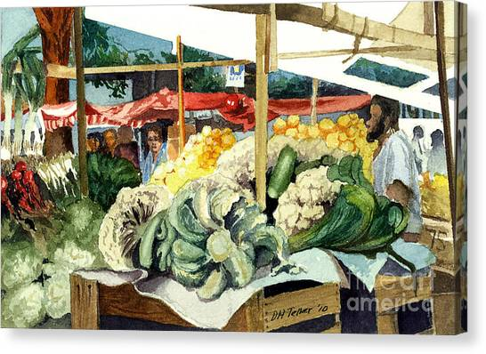 Market Day At Ipanema Canvas Print