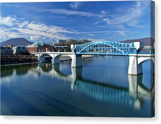 Market Street Bridge  Canvas Print