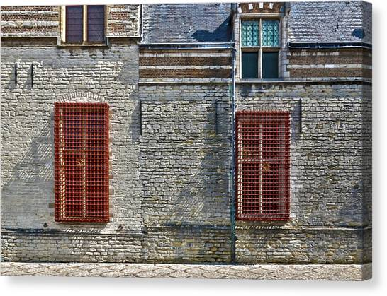 Markiezenhof In Bergen Op Zoom Canvas Print