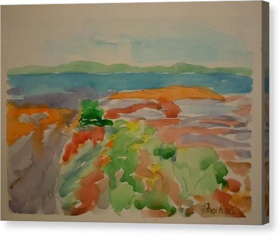 Marlboro Beach Canvas Print by Francine Frank
