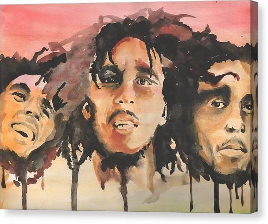 Marley Trio Canvas Print by Matt Burke