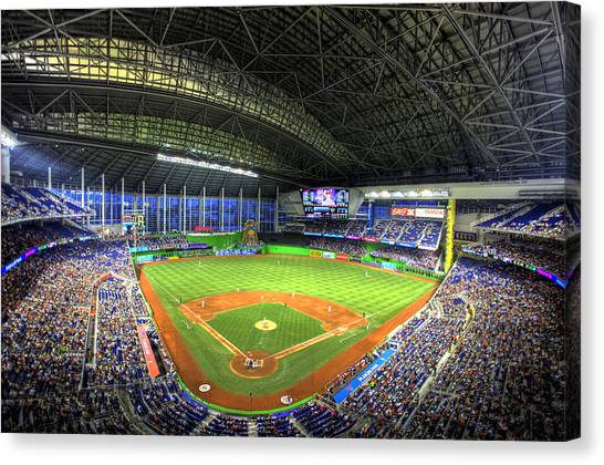 Marlins Park Canvas Print
