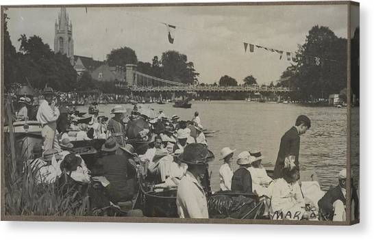 Marlow Canvas Print - Marlow, 1919, By Herbert Green. by Celestial Images
