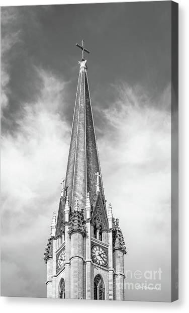 University Of Wisconsin - Madison Canvas Print - Marquette University - Church Of The Gesu by University Icons