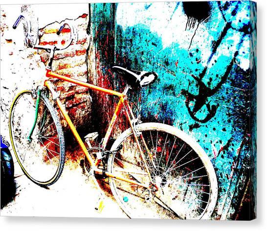 Marrakech Funky Bike  Canvas Print