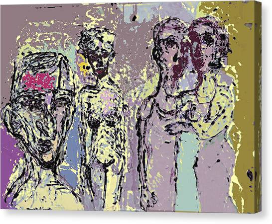 Marrige Canvas Print by Noredin Morgan
