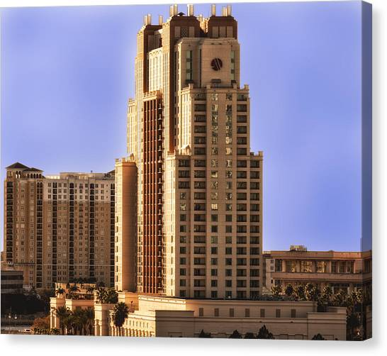 Marriott Of Tampa Bay Canvas Print