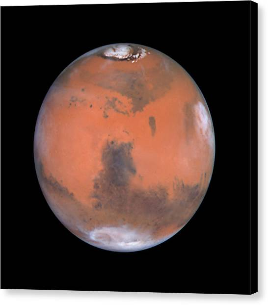 Canvas Print featuring the photograph Mars by Artistic Panda