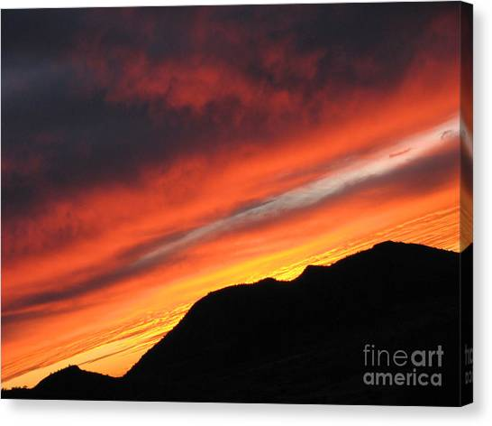 Mars Sunset Canvas Print