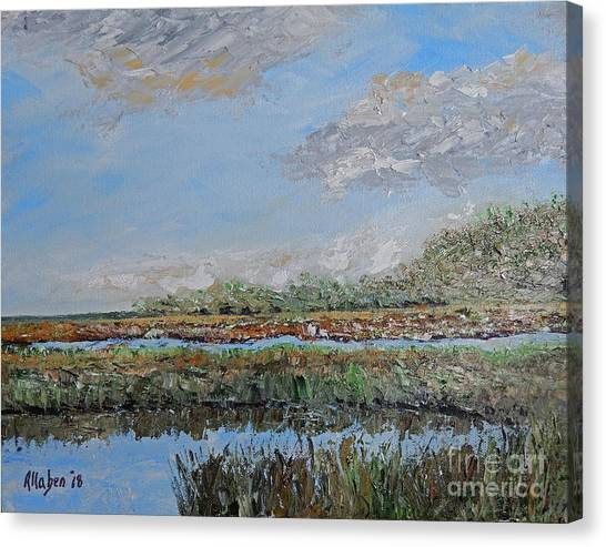 Marsh View Canvas Print