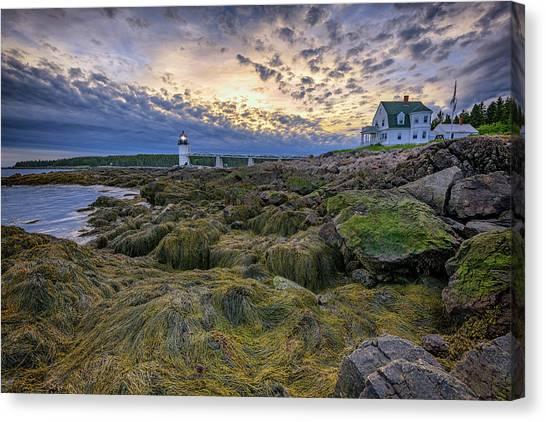 St George Canvas Print - Marshall Point At Dusk by Rick Berk